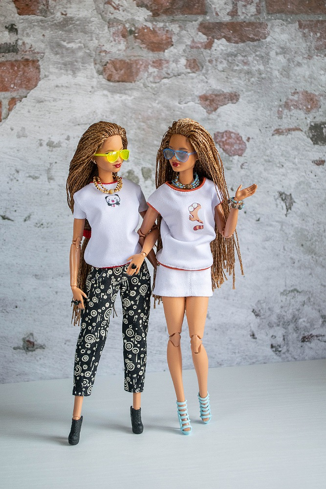 Barbie outfitsfor twins